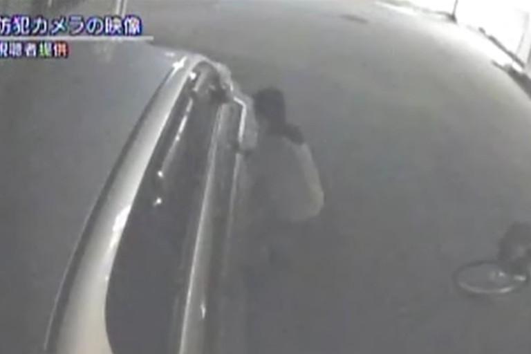 43歳男車傷つけた容疑