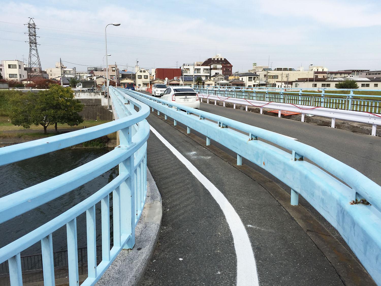 小松橋の工事