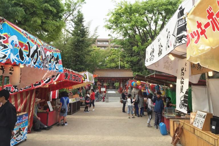 松山神社 祭り