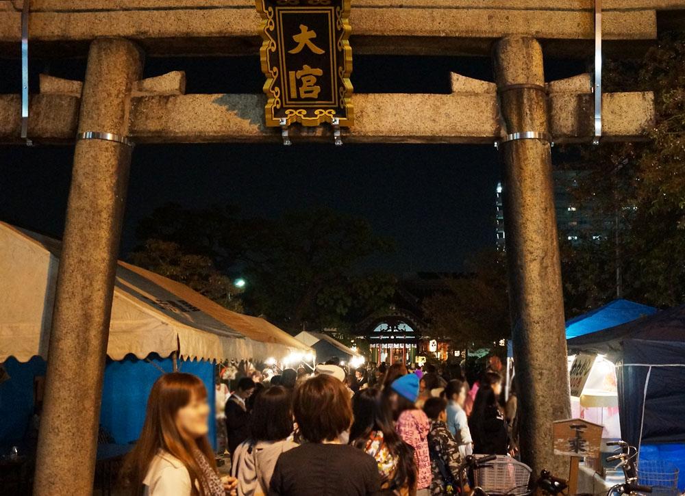大宮神社の春祭り