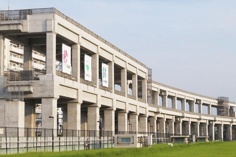 阪急京都線・千里線の連続立体交差事業高架橋