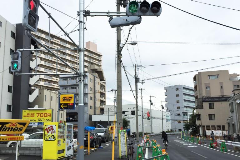 歌島豊里線 信号