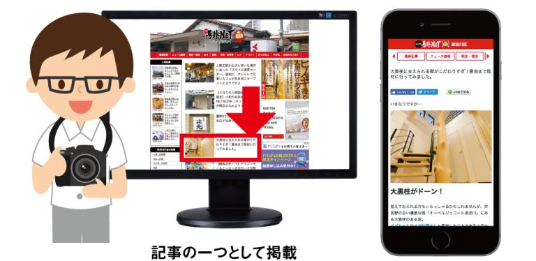 号外NET 広告メニュー