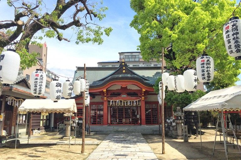 大隅神社 春祭り 2016