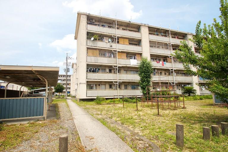 井高野第4住宅 解体 建て替え