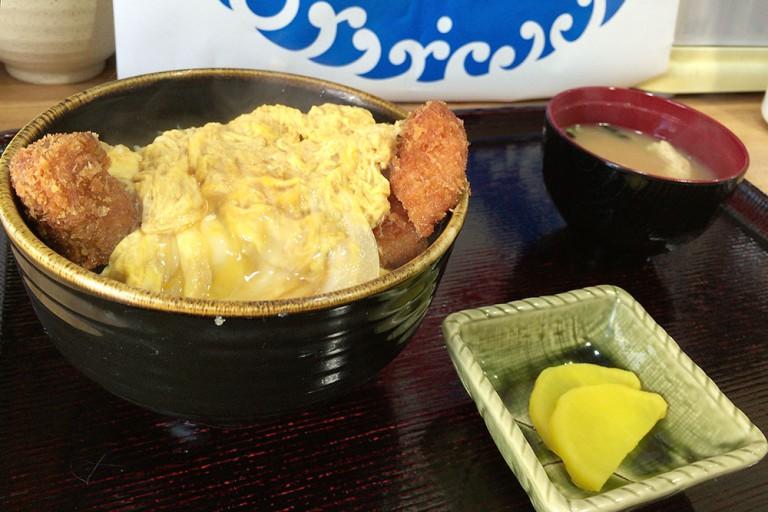 麺丼定 下新庄 オープン カツ丼
