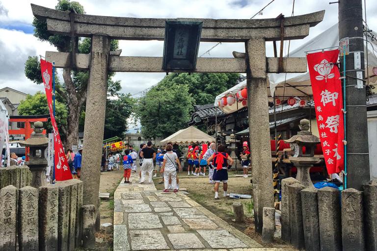 柴島神社の夏祭
