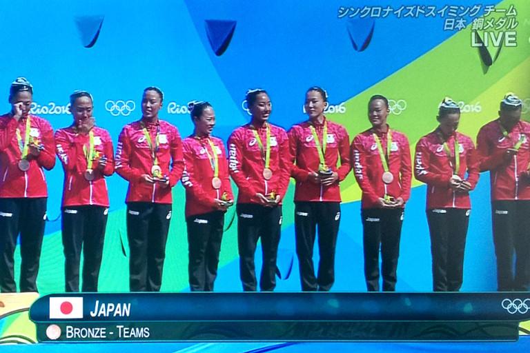 シンクロ チーム リオオリンピック 代表 林愛子 東淀川区