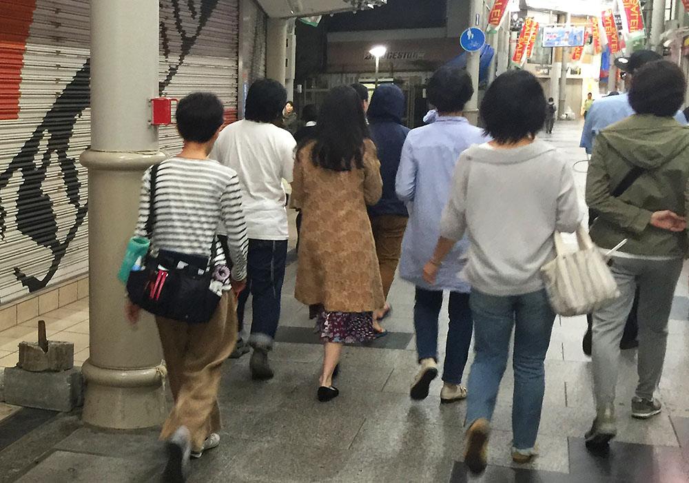 淡路商店街 映画 撮影 撮影 蒼井優 阿部サダヲ