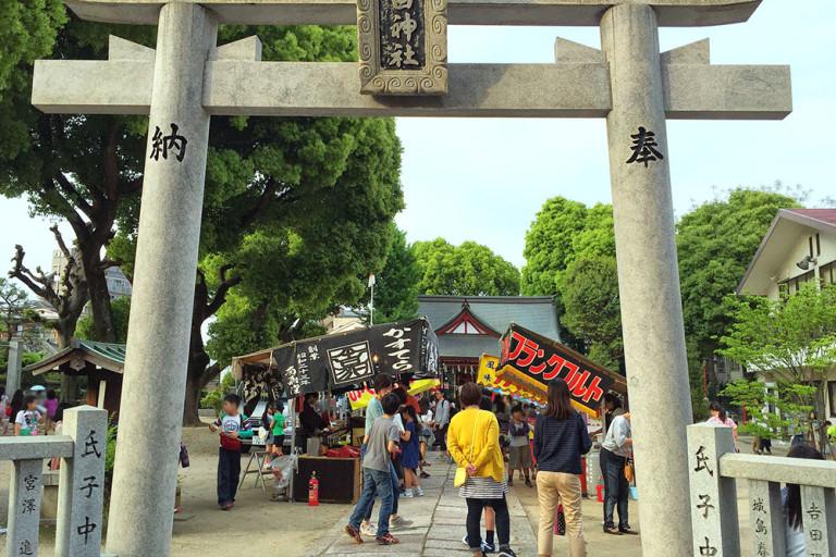 春日神社 秋祭り 春祭り 東淀川区