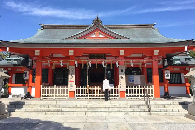 中島惣社 秋祭り 2016