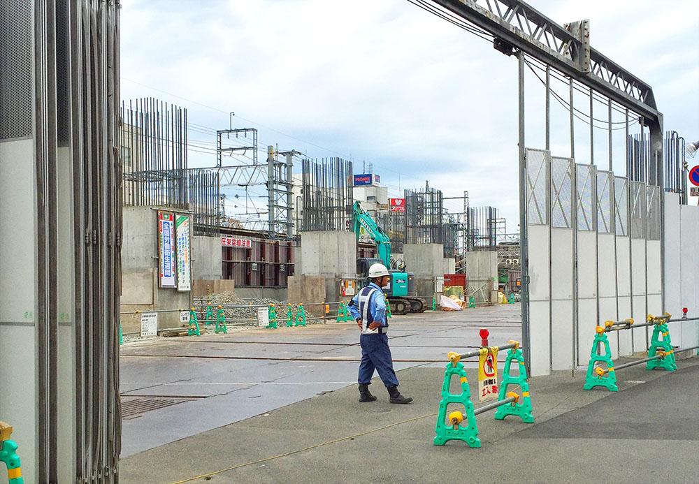 阪急 淡路 高架