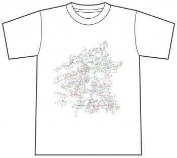 路線図Tシャツ