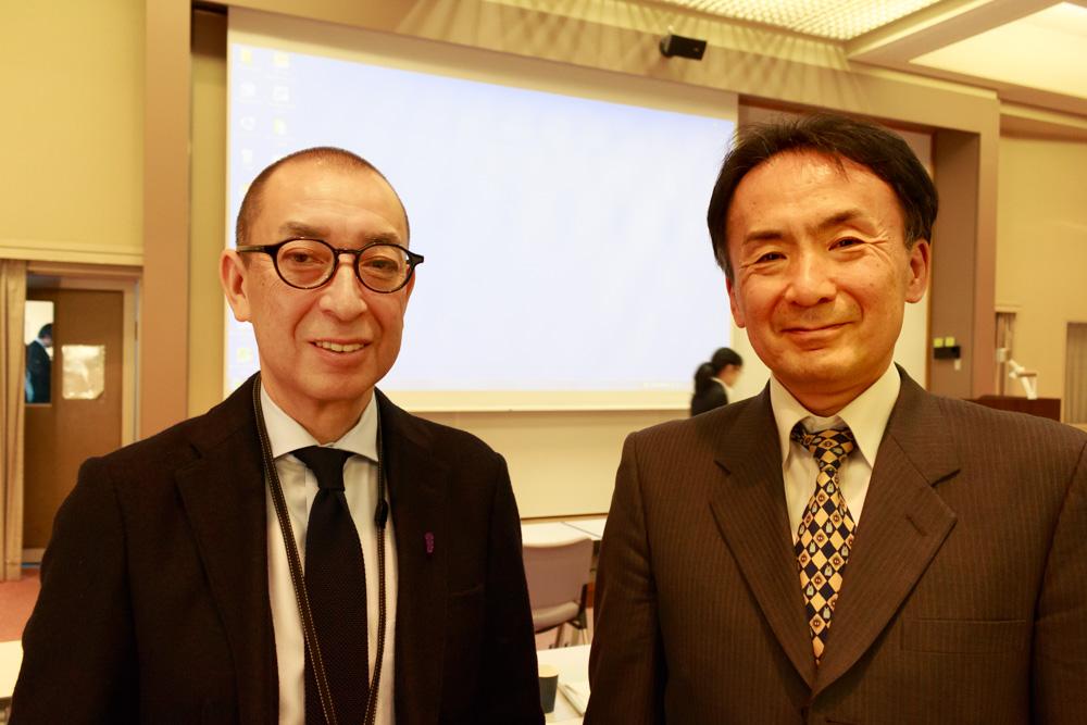 成蹊防災門脇教授・金谷区長