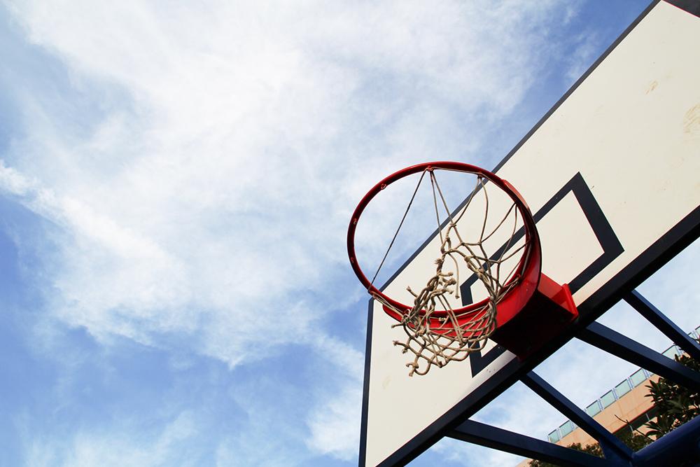 バスケットボール ゴール素材AC