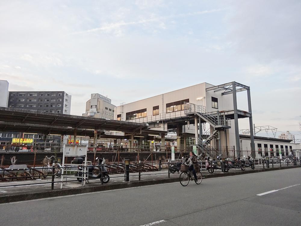 東淀川駅橋上化