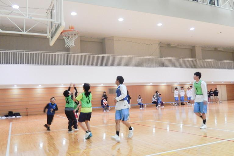 大経大キッズカレッジバスケ