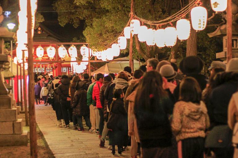 初詣 大隅神社