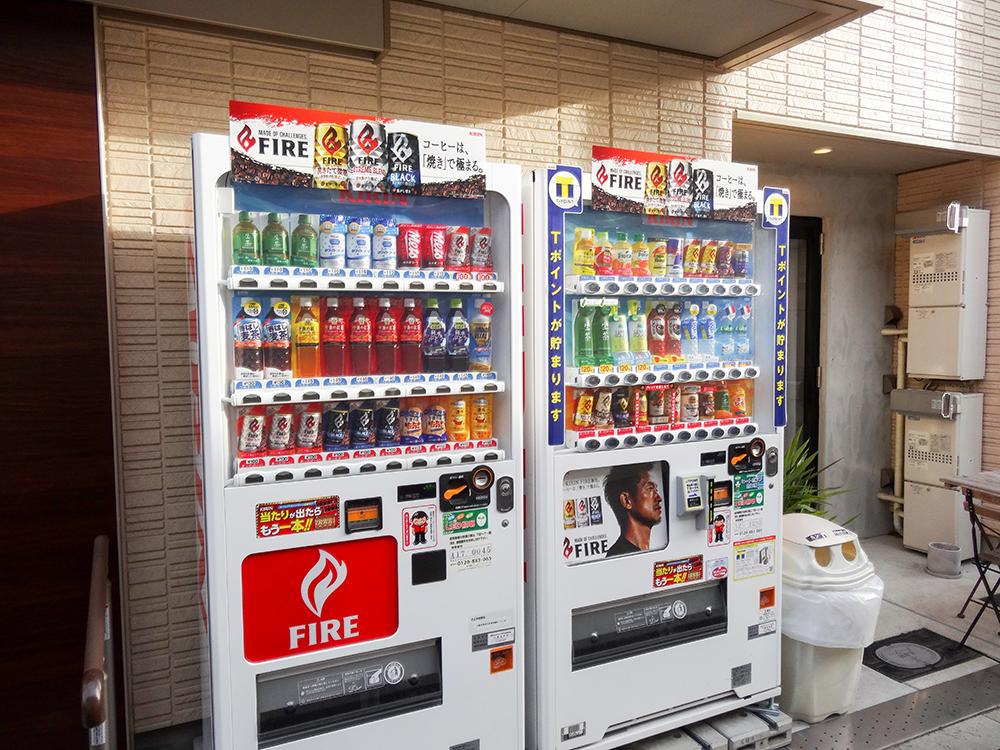 Tカード自販機