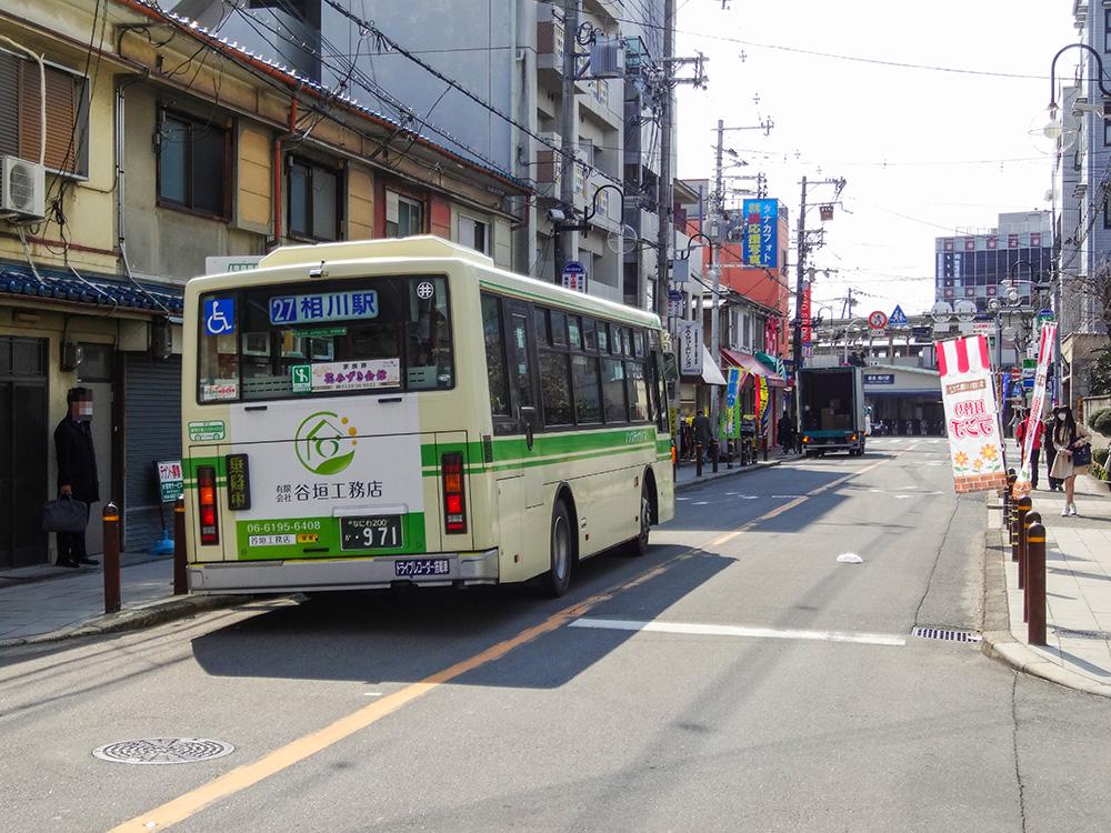大阪市バス27系統相川