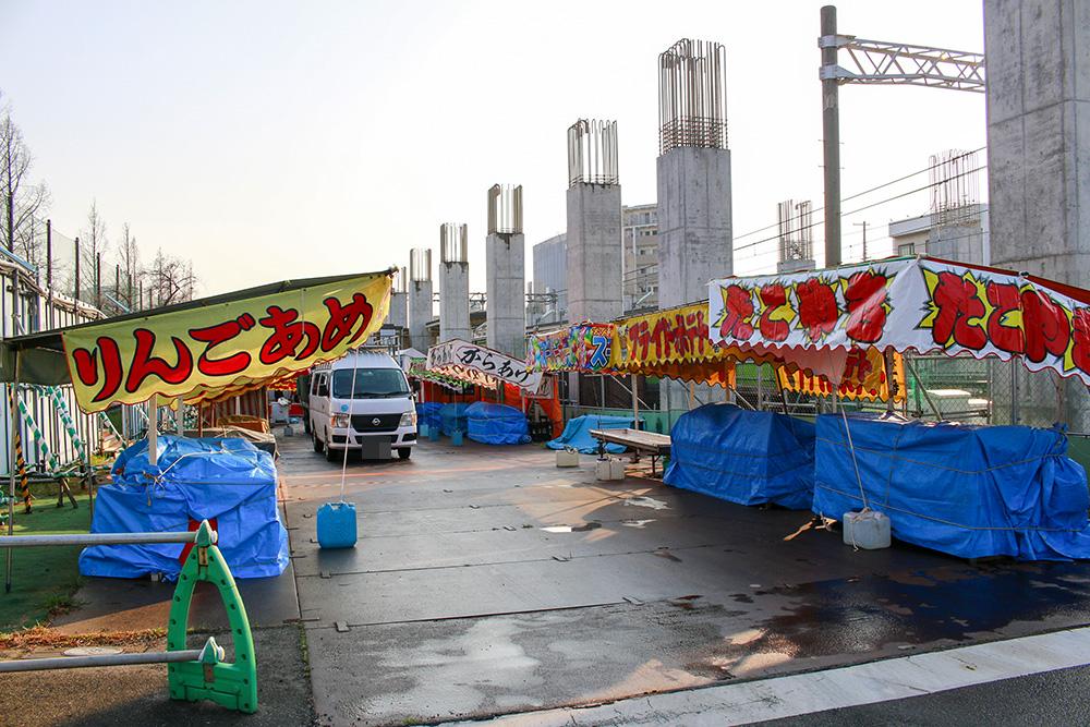 柴島浄水場桜2017