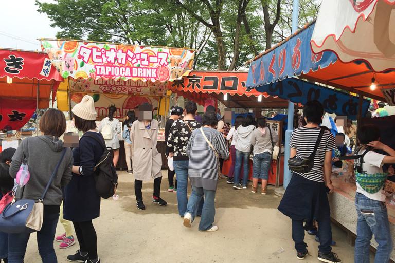 菅原天満宮春祭り2016東京コロッケ