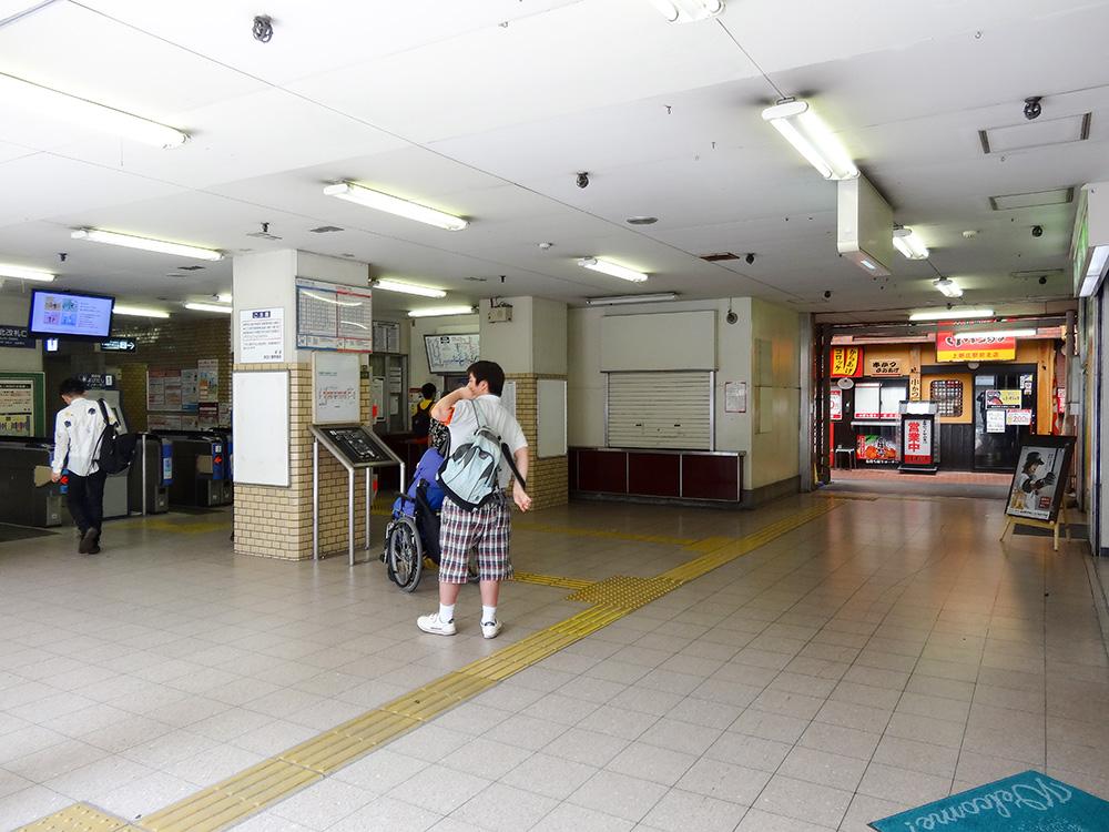 上新庄駅北口