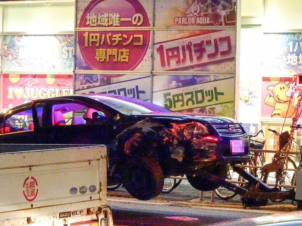 東淡路横転事故