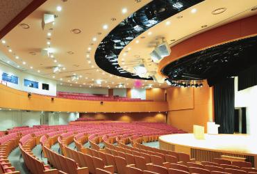 大阪経済大学70周年記念館フレアホール