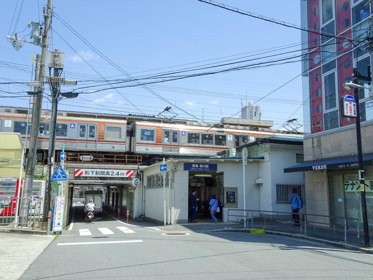 相川駅西口