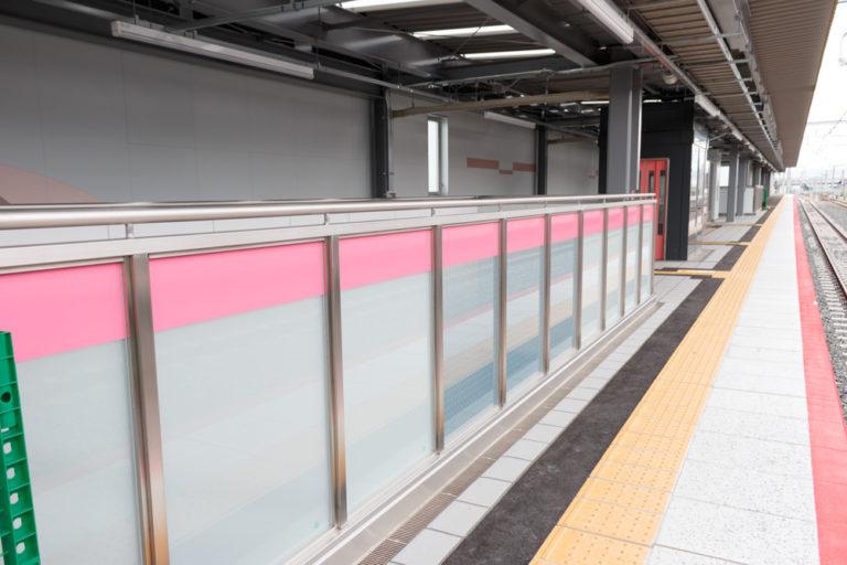JR淡路駅