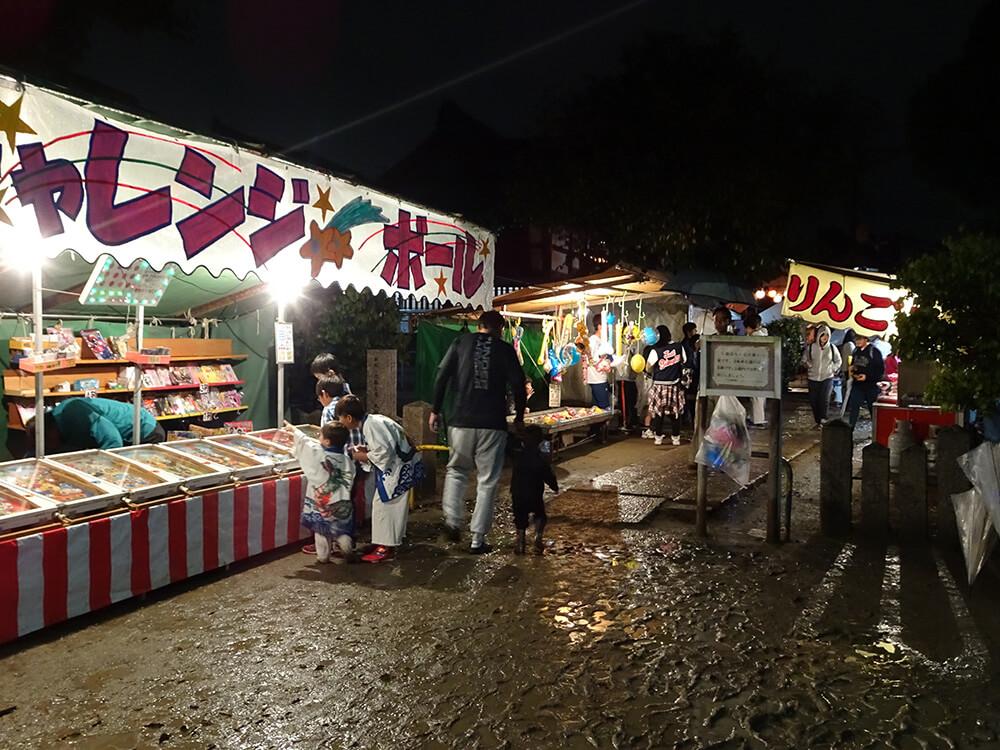 2017年の柴島神社秋祭り