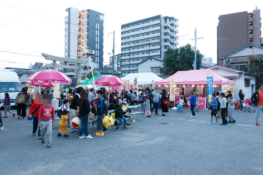 中島惣社秋祭り2018リニューアル