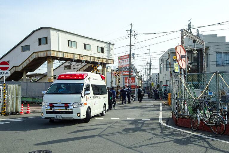 【東淀川区】踏切を無理に渡ろうとして…。本日(21日)朝、柴島駅近くの踏切で事故があり、阪急千里線が一時運転を見合わせました。