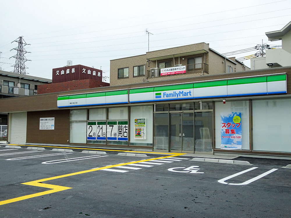 ファミリーマート井高野