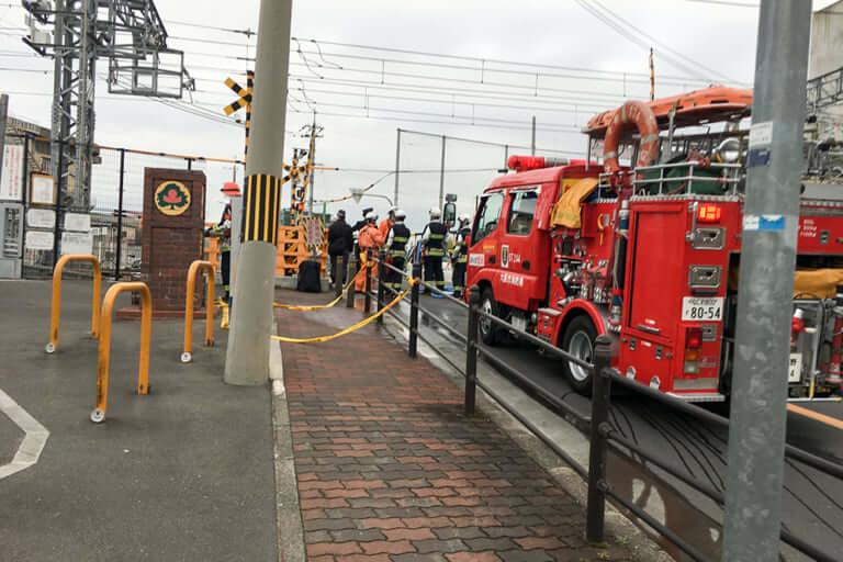 【東淀川区】本日(21日)午後、阪急淡路駅〜柴島駅間の踏切で人身事故発生。京都線・千里線に遅延が発生しています。