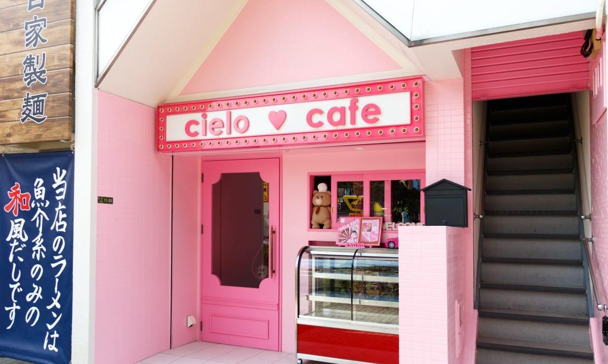 【東淀川区】はなみずき通りに派手なピンク色の建物が登場!フォトジェニックなメニューがありそうな「cielo cafe」が6月21日にオープンするようです!