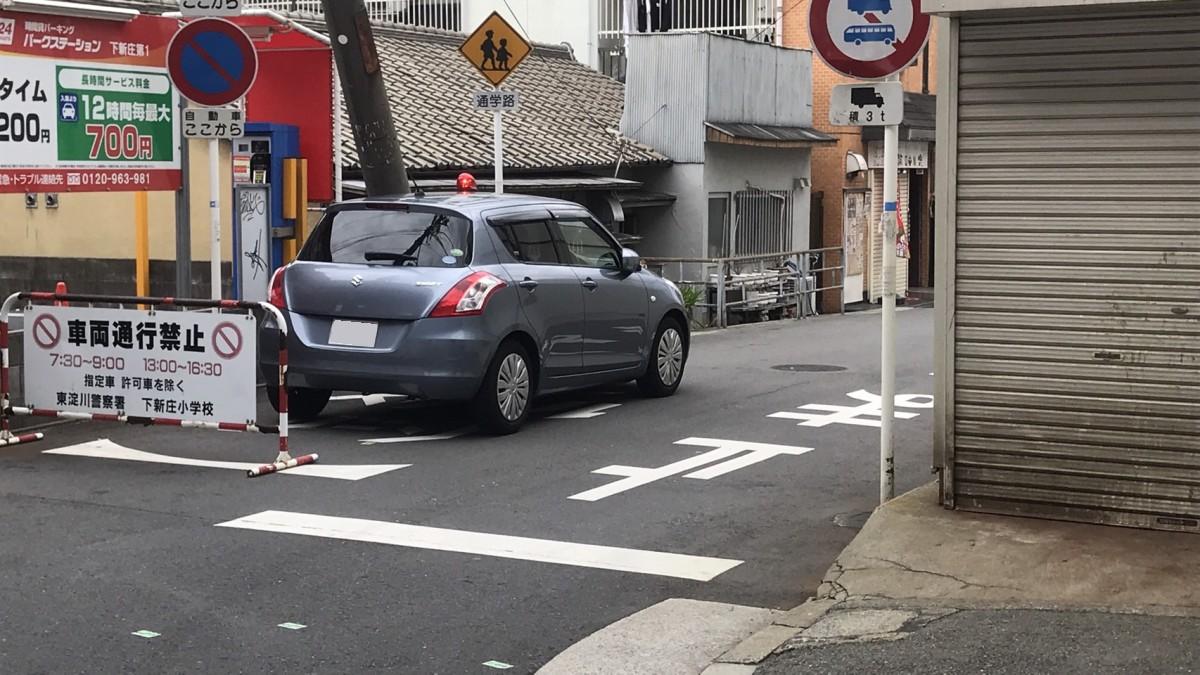 【東淀川区】本日14日、下新庄1丁目で刃物を持った男が逃走する事件がありました。【追記:無事検挙されました!】
