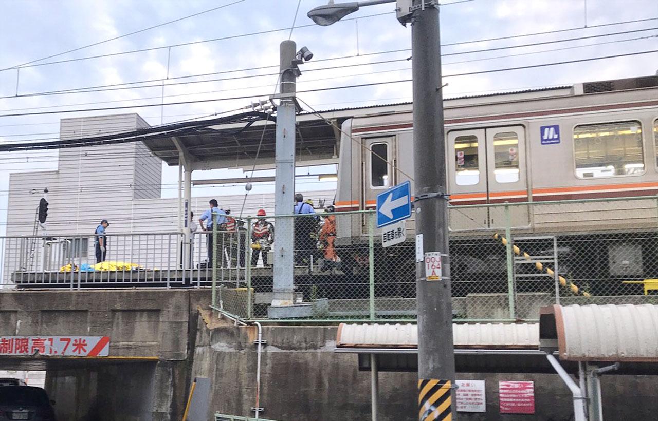 阪急京都線 相川駅 人身事故